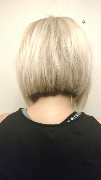 Back of my hair