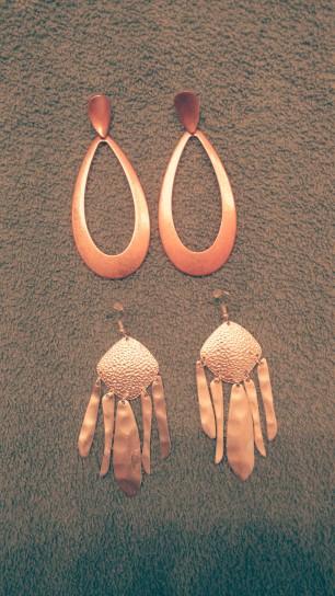 Earrings from Walmart